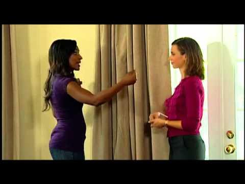 Video for Ivory 42-Inch x 95-Inch Room-Darkening Backtab Window Curtain Panel