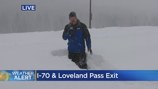 Colorado Weather: Snow Causes Major Closures On Interstate 70