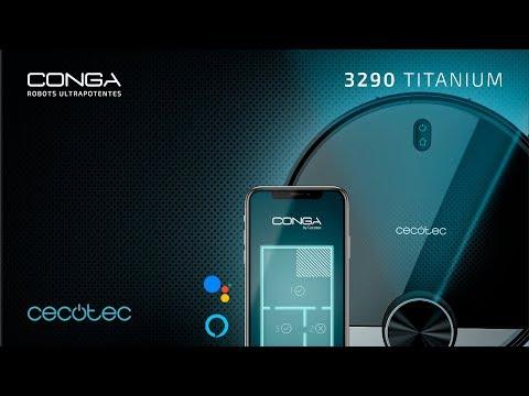 Robot aspirador Conga 3290 Titanium Cecotec