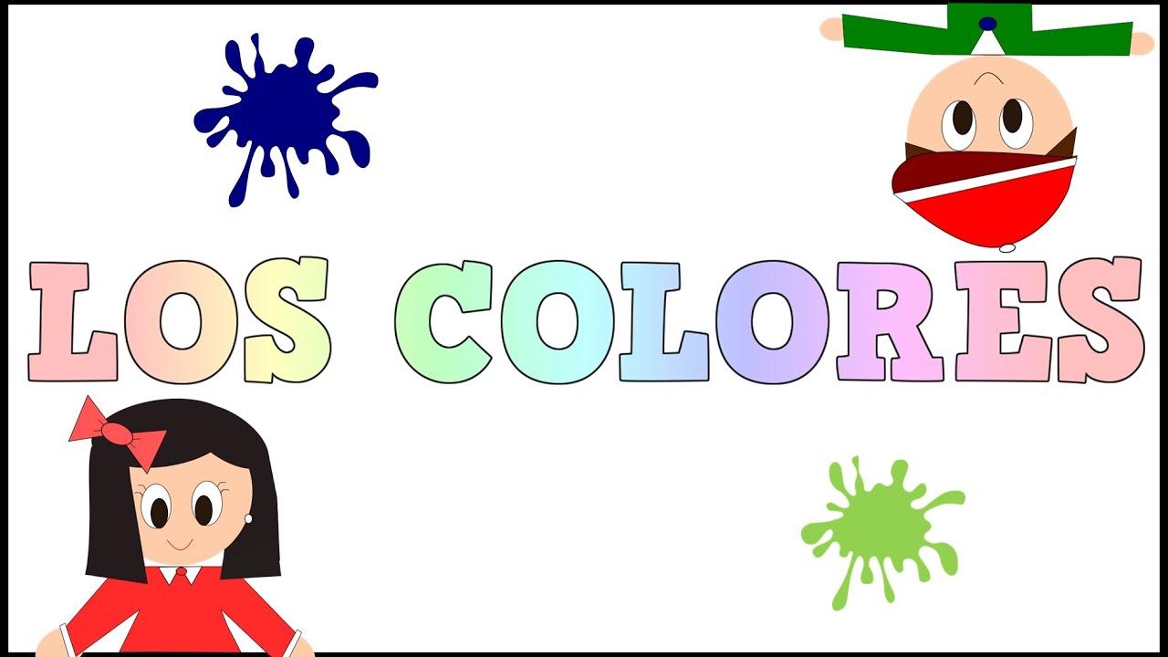 Los Colores en Español - Colours in Spanish -Vídeos Educativos para Niños y Bebés