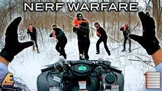 NERF WINTER WARFARE   First Person Shooter!