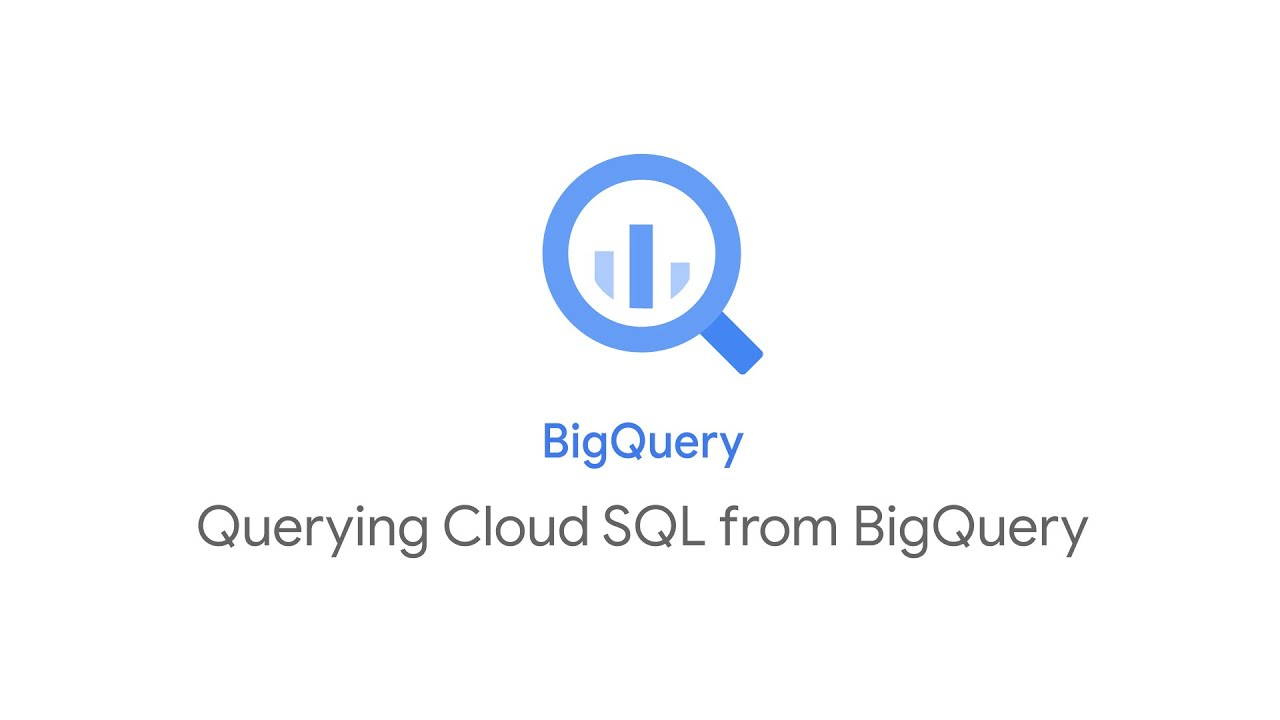 Querying Cloud SQL from BigQuery