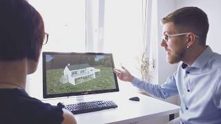 3D Immobilien Visualisierung