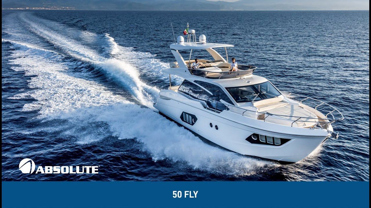 50Fly Absolute Yachts: flexibility and absolute comfort