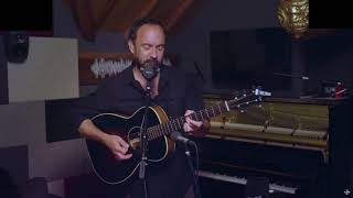 Dave Matthews - Pig (First Time Played Solo/SiriusXM 7.3.2020) AUDIO ONLY