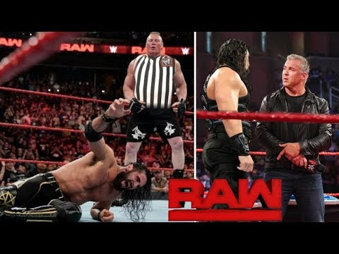 WWE Monday Night Raw - June 17, 2019 Highlight Preview ! Brock Lesnar | Roman reigns Results Winners
