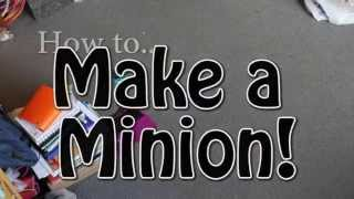 How Do I Make A Minion Costume? Halloween Fancy Dress Costume From Despicable Me Movie (DIY)