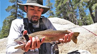 Trout Fishing the Sierras in California: Day Two (Catch and Cook and Camp)