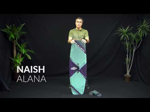 2018 Naish Alana Kiteboard Review