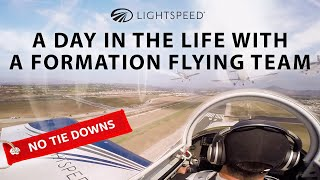 Aviation No Tie Downs: A day in the life of a formation flying team