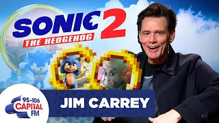 Jim Carrey On Sonic The Hedgehog Sequel, & Baby Grinch vs Baby Sonic 🦔 | FULL INTERVIEW | Capital