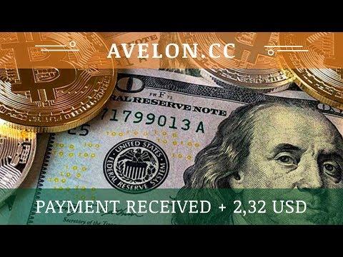 Avelon (avelon.cc) отзывы 2019, обзор, получил выплату 2,32 USD, Free bonus 100 Ghs and start mining