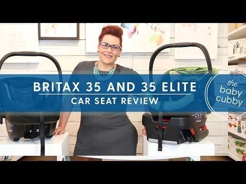 Britax B-Safe 35 & Britax B-Safe 35 Elite Infant Car Seat Review