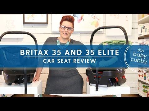 Britax B-Safe 35 & Britax B-Safe 35 Elite Infant Car Seat Review