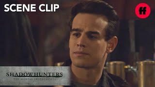 Shadowhunters | Season 3, Episode 6: Simon Comforts Lzzy | Freeform