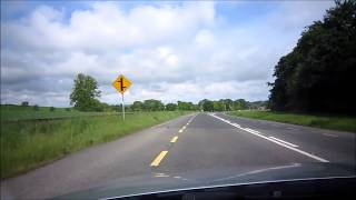 アイルランドレンタカーの旅 優先道路と一般道