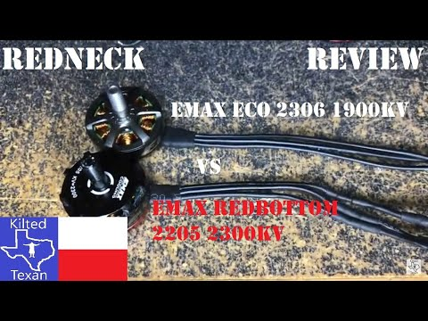 Emax ECO 1900kv - Good motors but a little disappointed