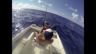 preview picture of video 'Pêche Ile Maurice - Jour 1 - GoPro Hero 3 Black Edition'