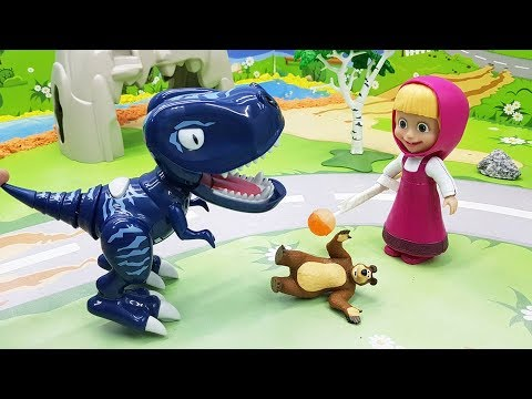 Видео для детей с игрушками Маша - Сон. Новые игрушечные мультфильмы для малышей видео