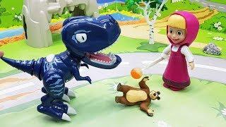 Видео для детей с игрушками Маша - Сон. Новые игрушечные мультфильмы.