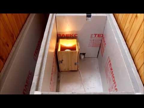 Хранение картофеля в зимнее время на балконе в специальном контейнере