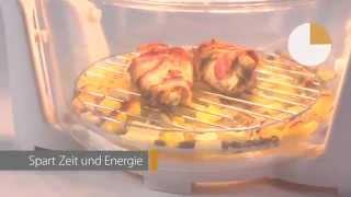 Аэрогриль Clatronic HLO 3523 Германия от компании PolyMarket - видео