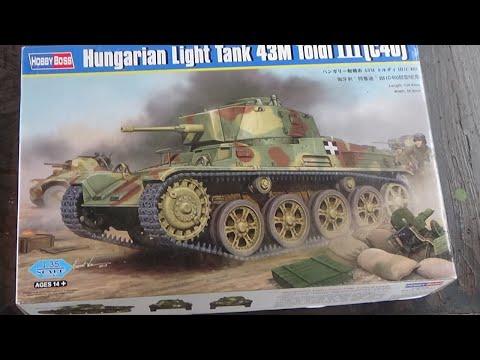 Hobbyboss Model Kit  82479 1//35 Hungarian Light Tank 43M Toldi III C40