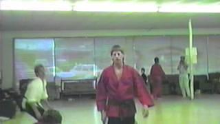 John Henderson Black Belt Test at Ray Rice Martial Arts Joke Before Test 1988