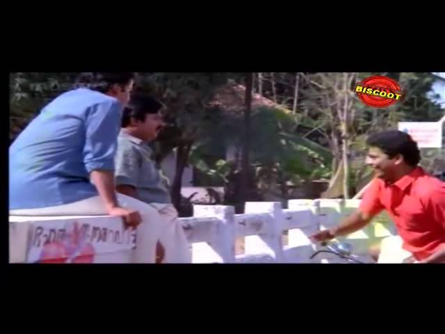 Comedy malayalam film scene in mannar mathai speaking.