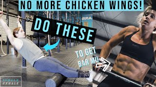 HOW TO DO BAR MUSCLE UPS | How to GET YOUR FIRST BAR MU, & STRING BIGGER SETS!