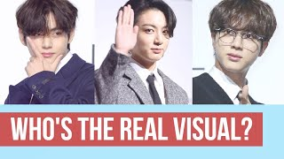 BTS' Real Visual - Jin, Jungkook or V?