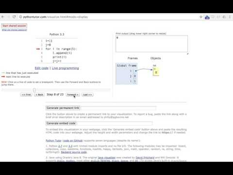 Python Code Stepper / Debugger / Tutor for Jupyter Notebooks