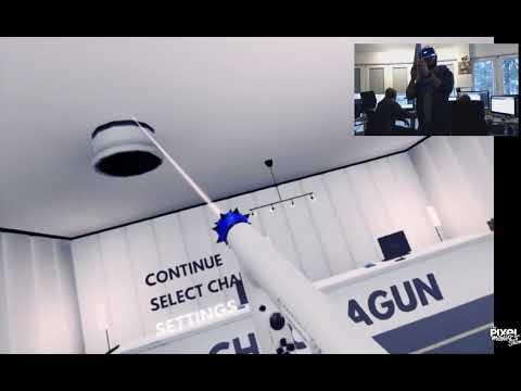 ChromaGun PSVR: Preview of Main Menu in VR thumbnail