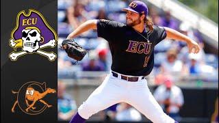 #10 East Carolina vs Campbell NCAA Baseball Regional | College Baseball Highlights