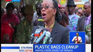 Leaders take anti-plastic bags campaign countrywide