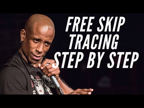 🆕free Skip Tracing Step By Step 👉 Free Skip Tracer 2020