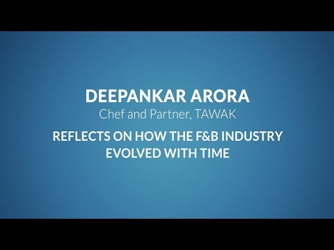 Deepankar Arora Shares with Franchise India, about the evolution of F&B industry
