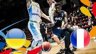 Ukraine v France - Full Game - FIBA U20 European Championship 2018