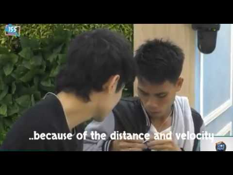 "PBB OTSO: (FUMIYAM USAPANG LABLYF) Yamyam-""We broke up because of distance and velocity""😂😂😂"