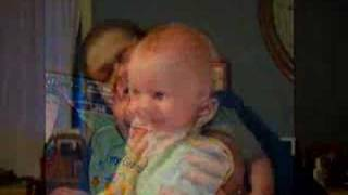 Smiling baby -- When I See You Smile by Clay Aiken