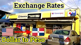 Dominican Money | Peso To Dollar Exchange Rate | Dominican Republic