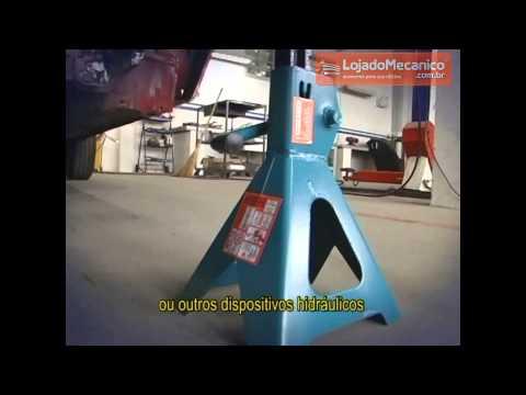 Cavalete de Apoio Mecânico 3 T com 1 Par - Video