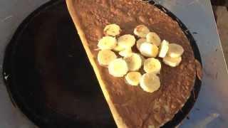 Crêpes au Nutella et à La Banane Salamandre Mostaganem HD
