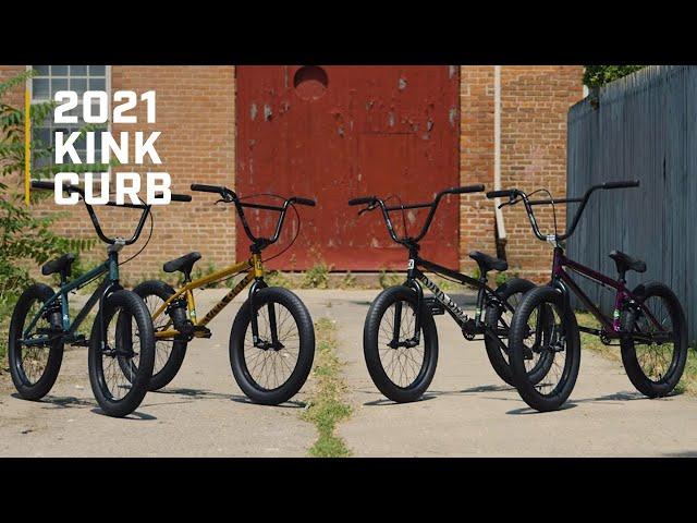 Видео Велосипед KINK Curb фиолетовый