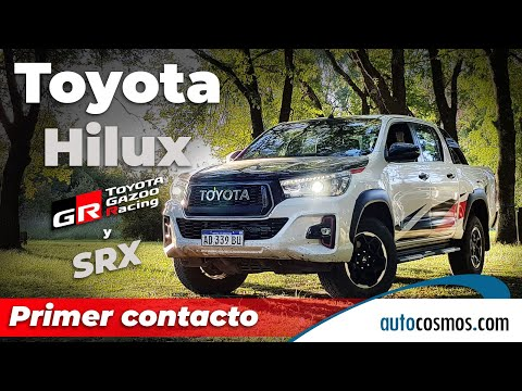 Contacto Toyota Hilux GR Sport