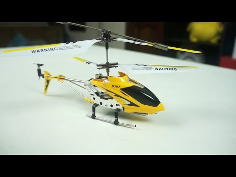 Syma S107G Mini RC Helicopter Review & Flight