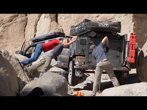 EP62 - BREAK(ing) in the NEW Turtleback Trailer - and breaking my finger too