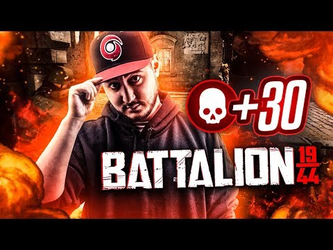 MA PREMIERE +30 KILLS SUR BATTALION !!!