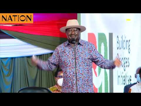 Raila: Political parties' hand in IEBC will foster transparency