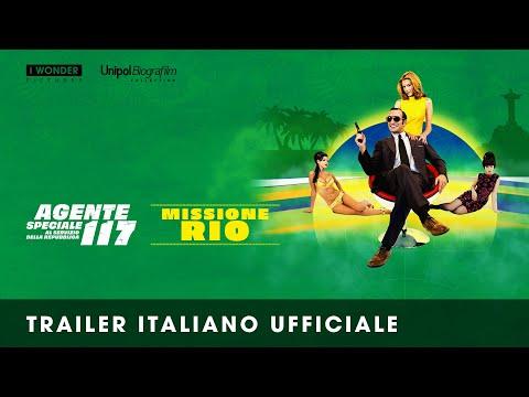 Agente speciale 117 al servizio della Repubblica – Missione Rio – Il trailer ufficiale italiano